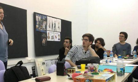 Veteran Game Designer visits Bilkent COMD (Mithad Meraj, MAN IV)