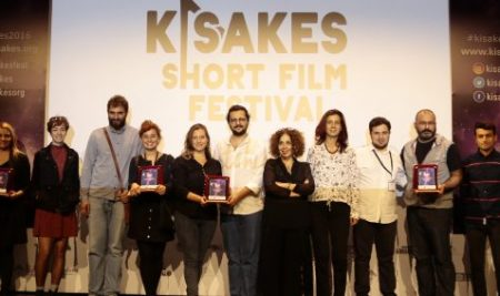 "Naz Önen (COMD '16) won the Pitching Competition as the Producer of ""Yapıbozum 