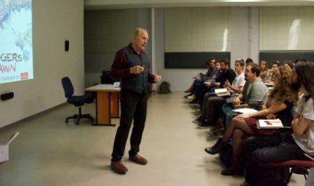The Economist Cartoonist gave a Workshop at Bilkent COMD