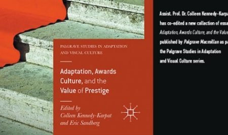 New Book: Adaptation, Awards Culture, and Value of Prestige