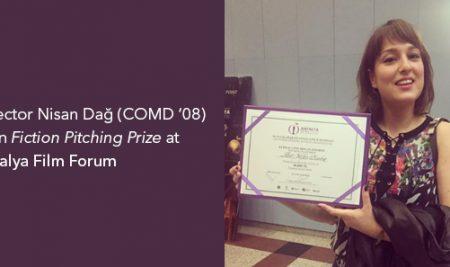 Director Nisan Dağ (COMD '08) Won Fiction Pitching Prize at Antalya Film Forum