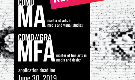 New Call for Applications – MA & MFA