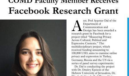 Asst. Prof. Dr. Ayşenur Dal Receives Facebook Research Grant