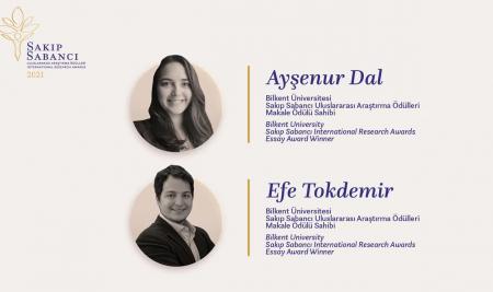 """Asst. Prof. Dr. Ayşenur Dal won the """"Essay Award"""" at Sakıp Sabancı International Research Awards 2021"""