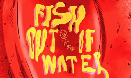 """Fish Out of Water// Sudan Çıkmış Balık"" by COMD alumna Nur Özkaya won the Best Animation Movie Award at The 28th International Adana Golden Boll Film Festival"