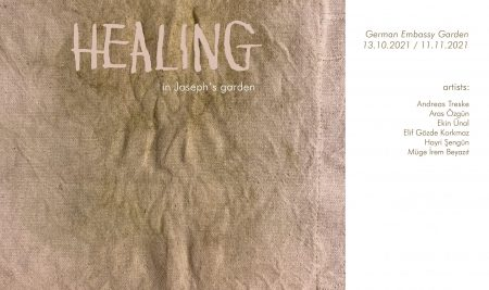 HEALING in Joseph's Garden, Exhibition at German Embassy Garden
